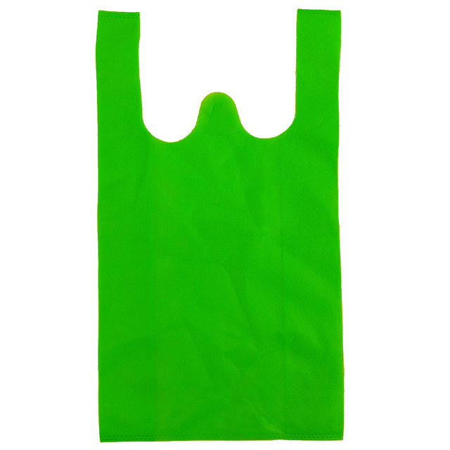 2019 Colorful Eco friendly advertising promotional bags pp non woven fabric for shopping