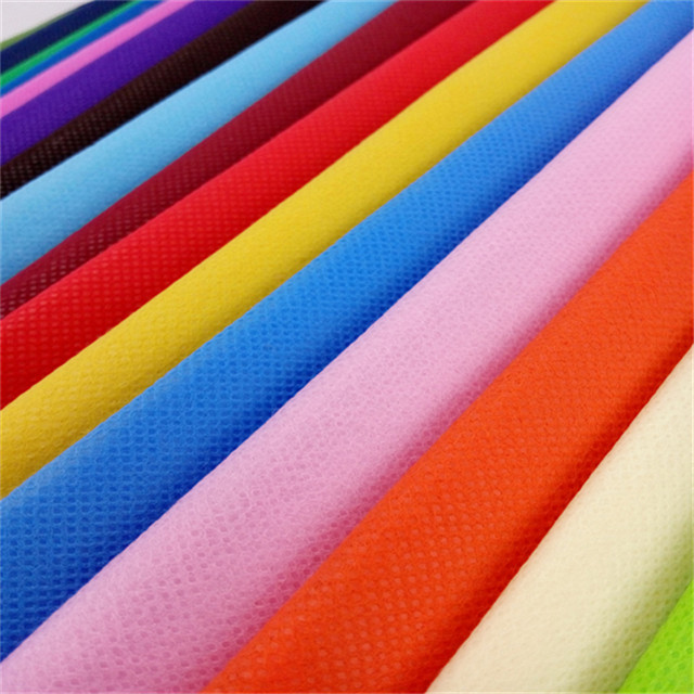 Sunshine Colorful 100% Polypropylene Spunbond Nonwoven Fabric Roll