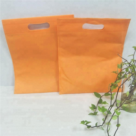 Eco friendly pp nonwoven fabric for non woven d-cut shopping bag