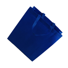 2021 Blue Colorful Handle Bag Pp Non Woven Fabric for Shopping Bags Supplier