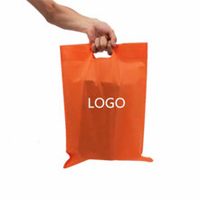 Hot sales non woven bag colorful pp nonwoven fabric supermarket nonwoven shopping bag