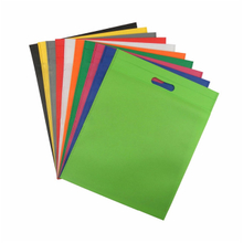 Eco-friendly pp nonwoven fabric use to supermarket colorful non woven bag