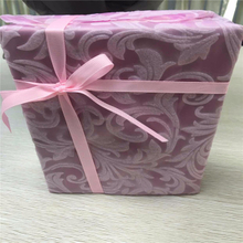 Gift wrapping use good quality embossed nonwoevn fabric