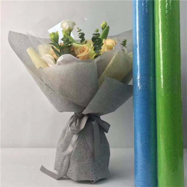 Flower and gift wrapping material--pp spunbond nonwoven fabric