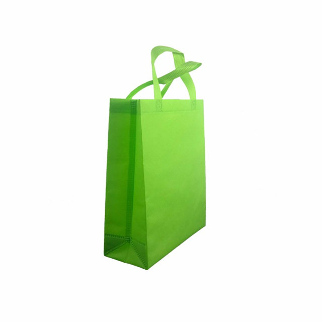 Hot sales shopping handle bag use 100% pp spunbond nonwoven fabric