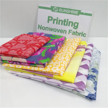 Colorful Printed Non Woven Fabric Print Nonwoven Roll Nonwoven Fabric with Printed Pattern