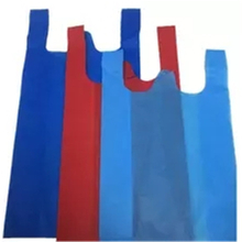 Eco-friendly & Colorful T-shirt Bag 100% Polypropylene Spunbonded Nonwoven Fabric