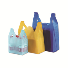 Multi-Color Reusable PP Non Woven T-shirt Shopping Bags
