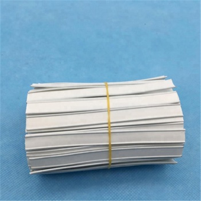 PP or PE Hygiene disposable material of plastic nose wire with single iron