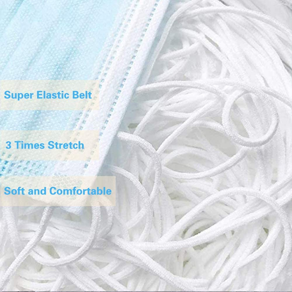 Factory Sales Elastic Earloop Cord Ear Elastic Rope