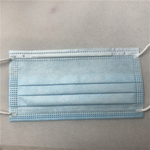 Three layers Medical blue non woven mask disposable protective mask